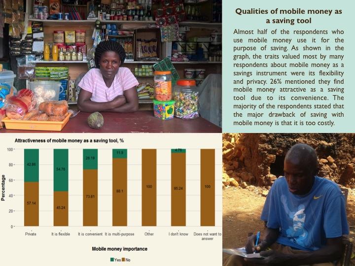 Qualities of Mobile Money