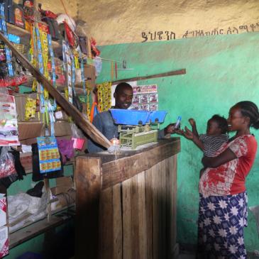 Encouraging encounters with merchants in Ethiopia