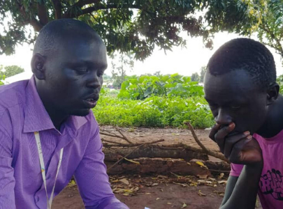 Meet one of our Field Researchers in Kiryandongo