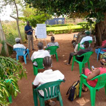 Financial Literacy Training in Kiryandongo during COVID-19